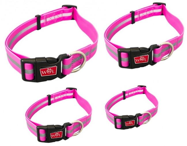 Stink proof reflective light weight Newly Designed Waterproof Collar for Dog