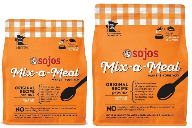 Sojo's Mix-a-Meal Pre-Mix Dog Food - Original Recipe
