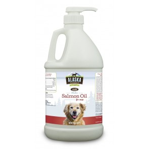 Alaska Naturals Wild Alaskan Salmon Oil for Dogs 64oz.
