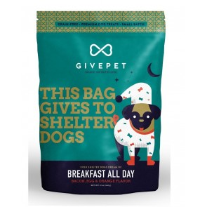 GivePet Dog Treats Breakfast All Day 12 Oz.