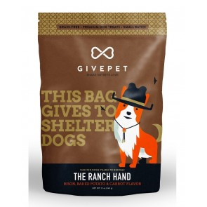 GivePet Dog Treats Ranch Hand 12 Oz.