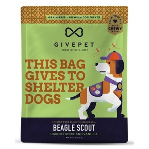 GivePet Dog Treats Beagle Scout 6 Oz.