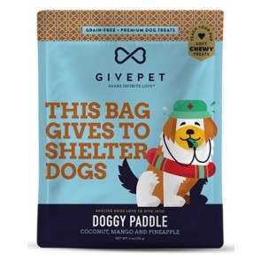 GivePet Dog Treats Doggy Paddle 6 Oz.