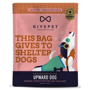 GivePet Dog Treats Upward Dog 6oz