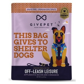 GivePet Dog Treats Off-Leash Leisure 6 Oz.