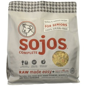Sojo's Complete Senior Dog Food Mix - Turkey & Salmon Recipe 7 lb.