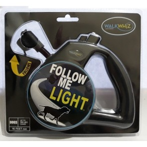 Wigzi WalkWhiz - Follow Me Dog Light Retractable Leash