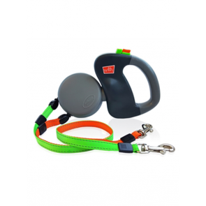 Wigzi Leash - Dual Doggie Retractable