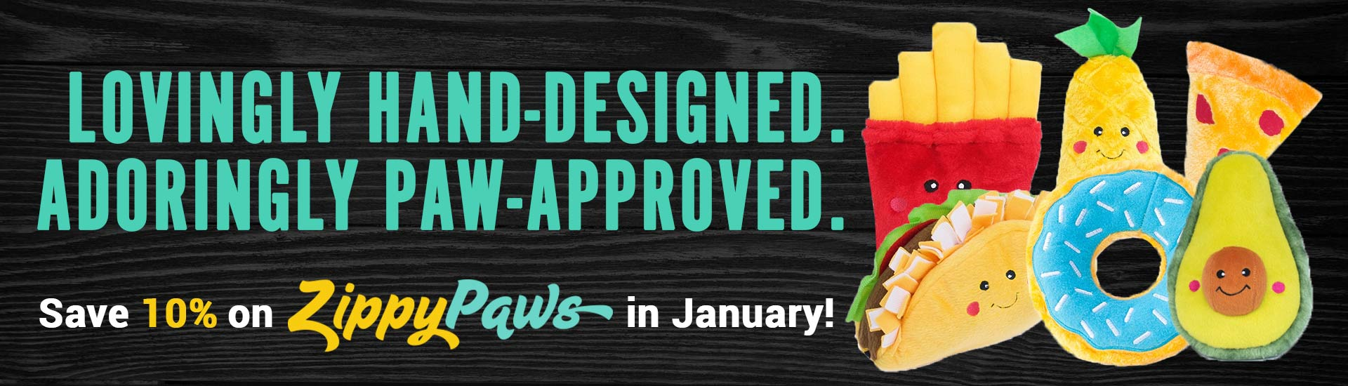 Lovingly hand-designed. Adoringly paw-approved.